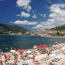 Херцег-Нови (Черногория) — пляжи и места для купания
