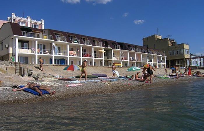 Пляж кооператива эллингов «Якорь»