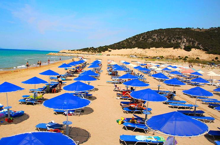 Пляж «Калогриа» (Kalogria)