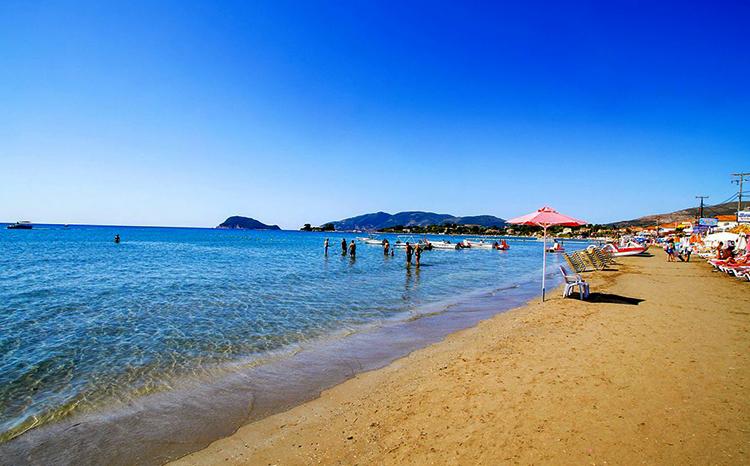 Пляж Лаганас (Laganas Beach)