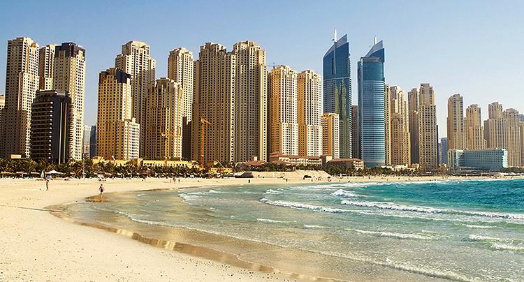 Дубай Марина (Dubai Marina Beach)