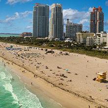 Знаменитые пляжи Майами: список, фото и описание