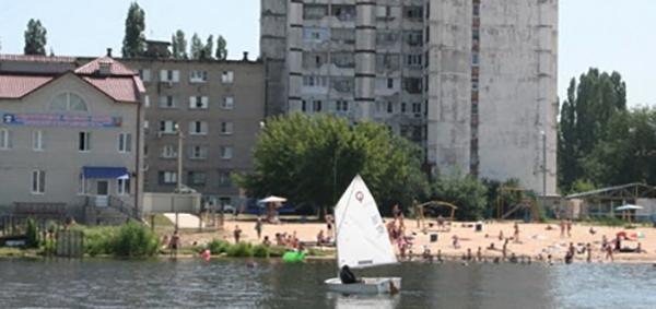 Пляж Новолипецкого металлургического комбината