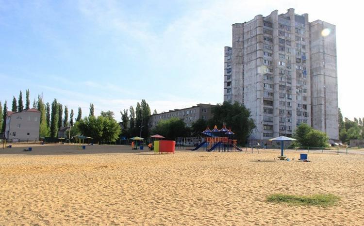 Новолипецкий пляж