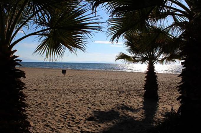 Памуджак (Pamucak beach)