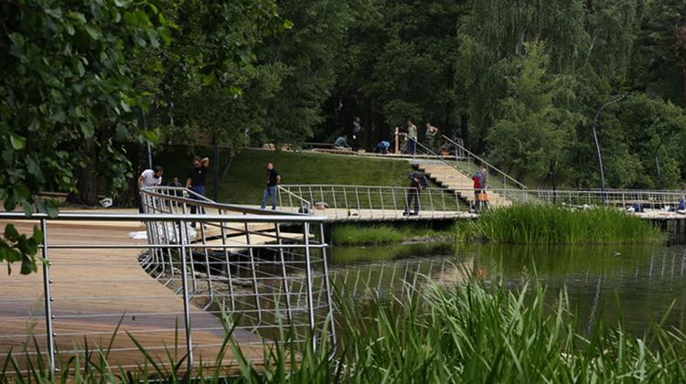 Фабричный пруд на Пехорке