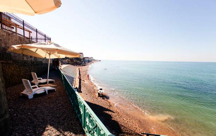 Пляж отеля «Ravenna Mare»