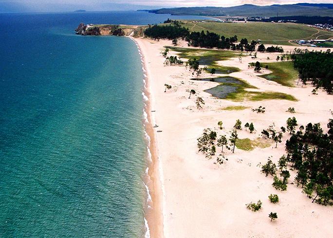 Сарайский пляж