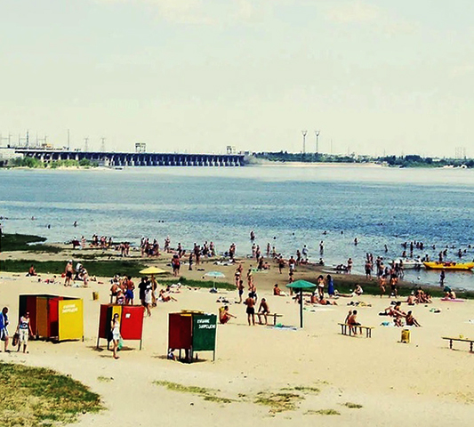 Пляж Спартановка