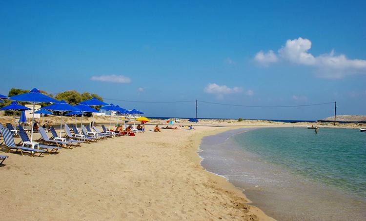 Курортный берег Ставрос (Stavros beach, Σταυρός)