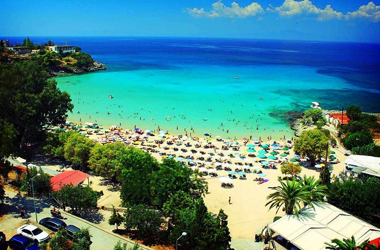 Пляж «Ступа» (Stoupa)