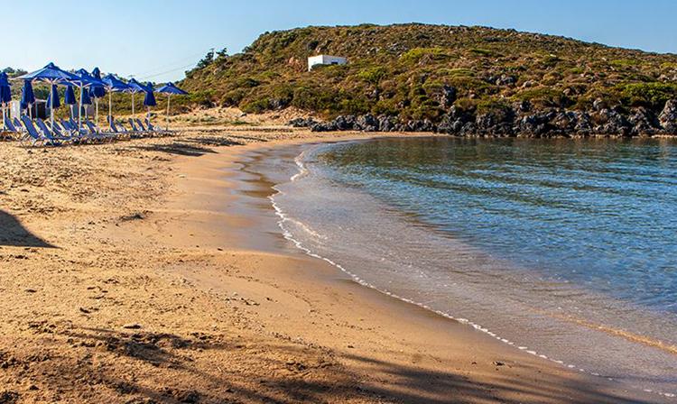 Пляжное побережье Терсанас (Tersanas, Τερσανάς)