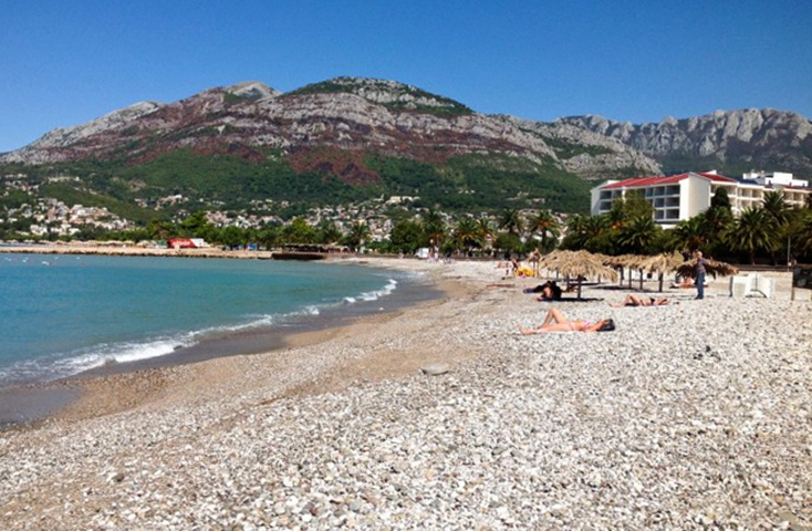 Городской пляж Тополица (Topolica Plaža)