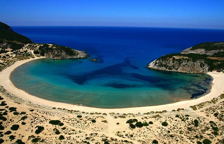 Пляжный берег «Войдокилья» (Voidokilia)