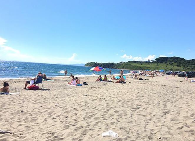 Пляж Золотари