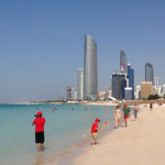 Популярные пляжи Абу-Даби