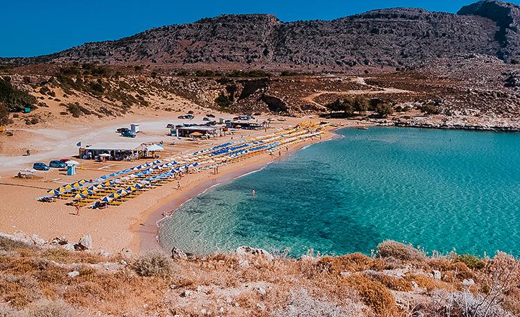 Агия Агати (Agia Agathi Beach)
