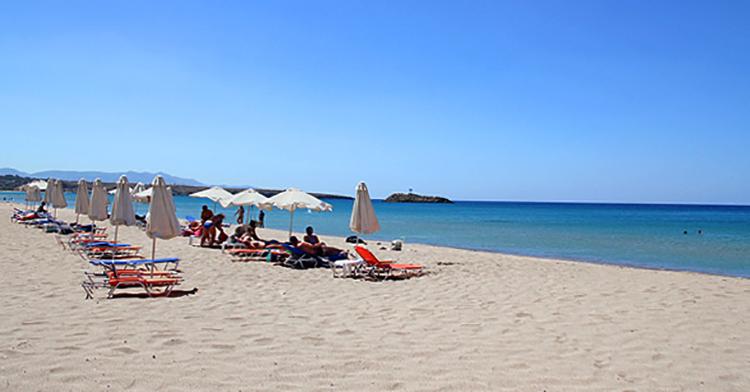Амнисос (Amnissos beach)