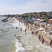 Пляжи и места для купания Бердянска