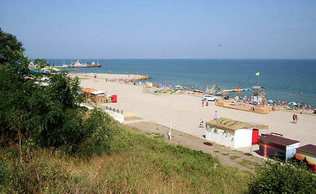 Центральный Таманский пляж