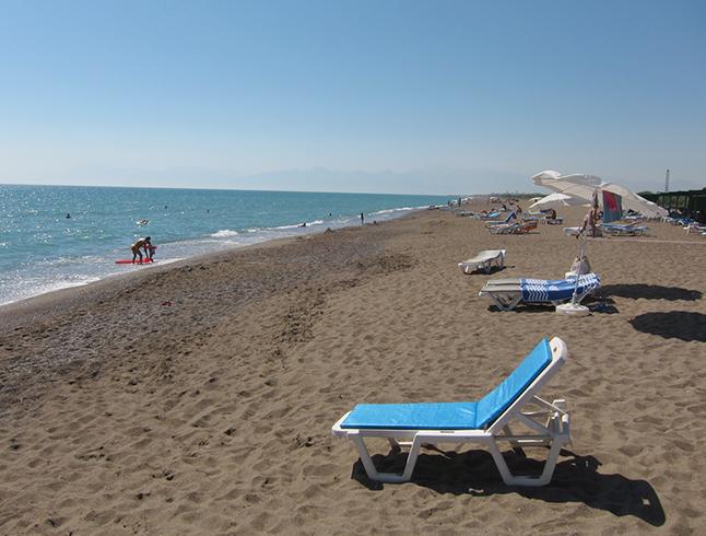 Центральный пляж Белека (Belek Main Beach)