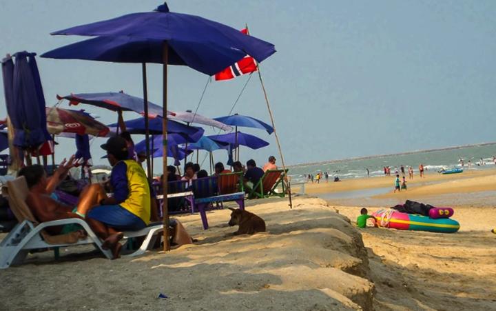 Пляж Ча Ам (Cha Am beach)