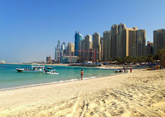 Дубай Марина Бич (JBR Beach)