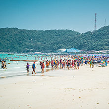 Пляжи острова Ко Лан — известные пляжные места острова