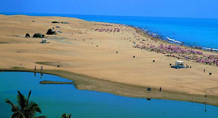Плайя-де-Маспаломас (Playa de Maspalomas)
