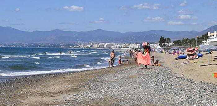 Лос Монтерос (Playa Los Monteros)