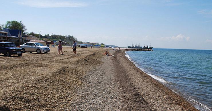 Насыпной пляж