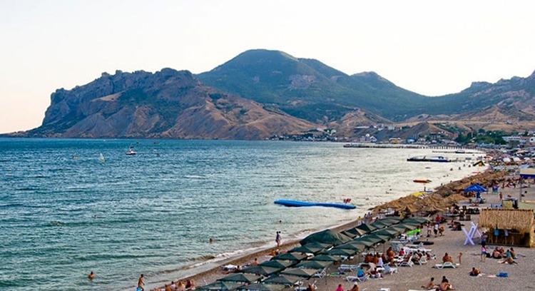 Нудистский пляж Коктебеля