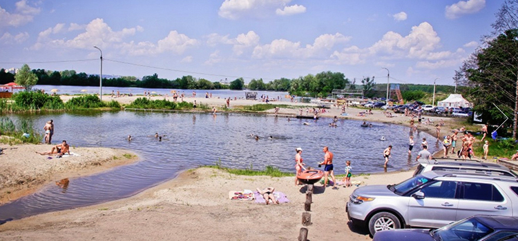Русеевский пляж
