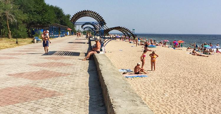 Пляж Санатория «Бердянск»