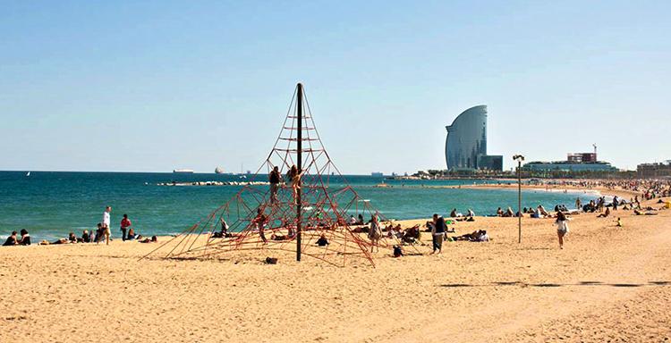 Сан-Себастия (Sant-Sebastia beach)