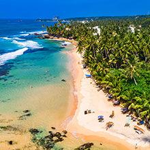Популярные пляжи Шри-Ланки: обзор и фото