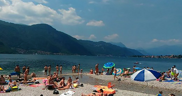 Пляж парка Улиссе Гуции (Spiaggia Parco Ulisse Guzzi)