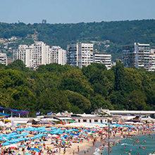 Популярные пляжи Варны