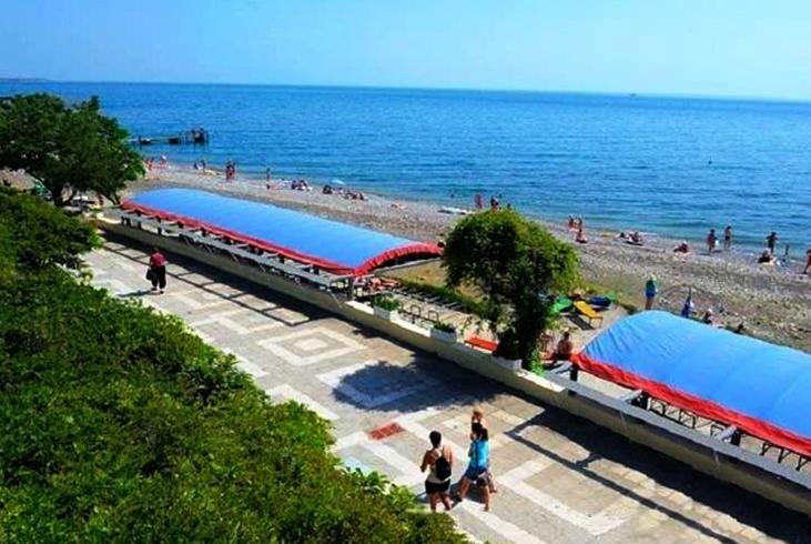 Пляж санатория «Волна»