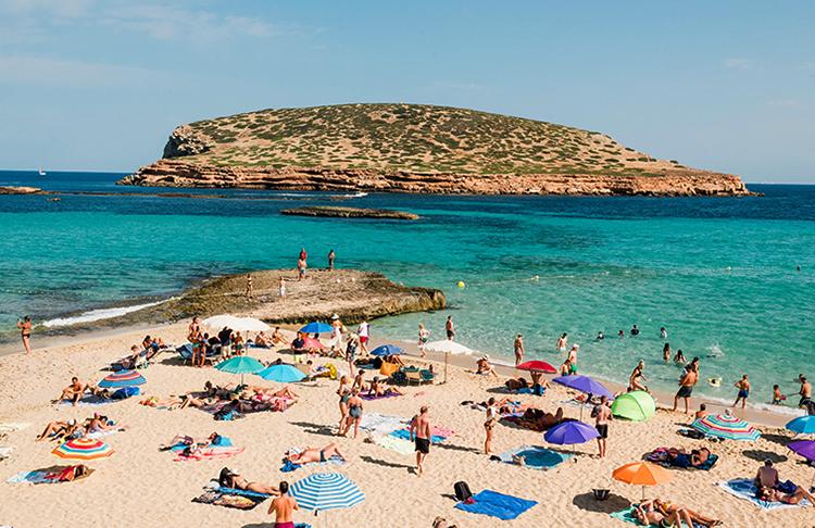 Пляж Кала-Конте (Playa Cala Conta)