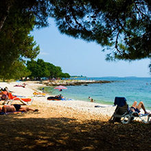 Ровинь — известные пляжи (с фото)