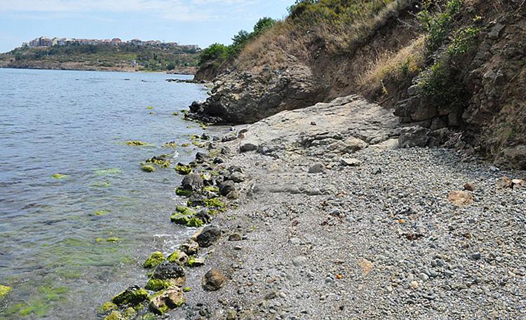 Дикие пляжи на западе Созополя