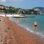 Популярные пляжи Гурзуфа