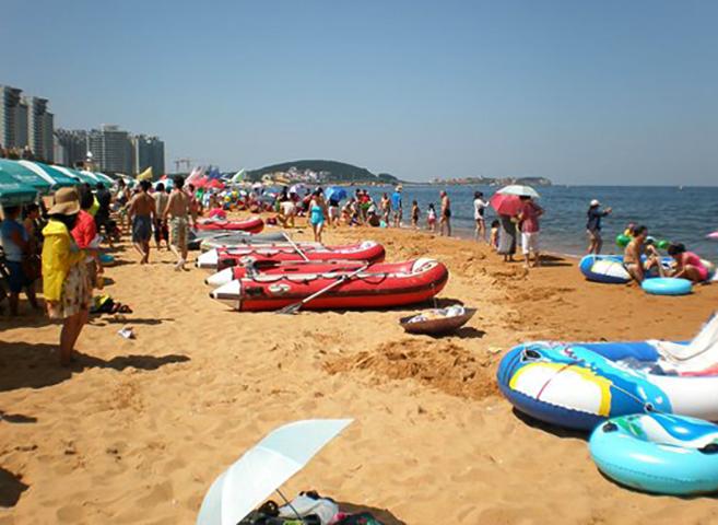 Вэйхай международный пляж (Weihai International beach)