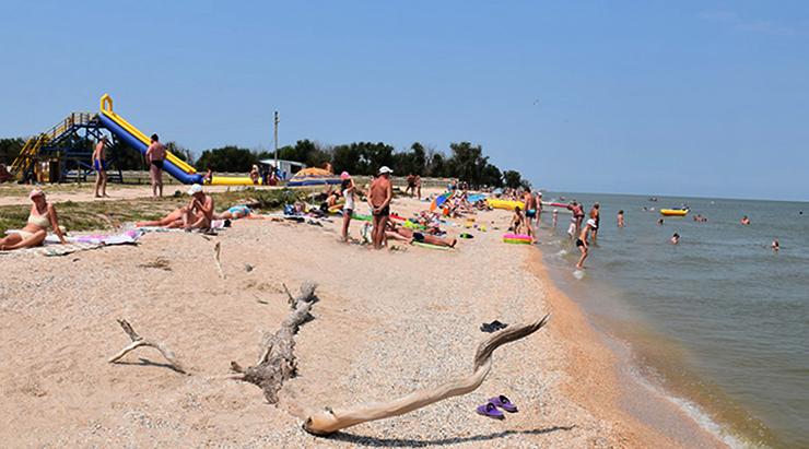 Пляжи кемпинга «Якорь»