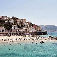 Популярные пляжи Марселя