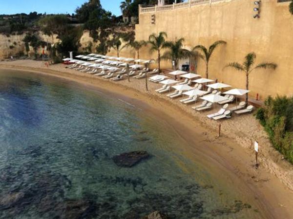 Пляж отеля Minareto (Grand Hotel Minareto)