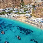Пляжи Миконоса: обзор и описание мест