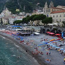 Лучшие пляжи Амальфи: обзор и фото популярных мест