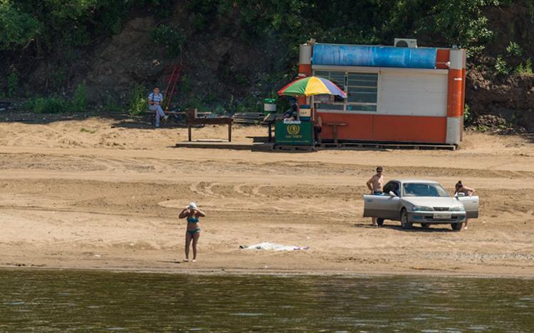 Пляж «Дальдизель»